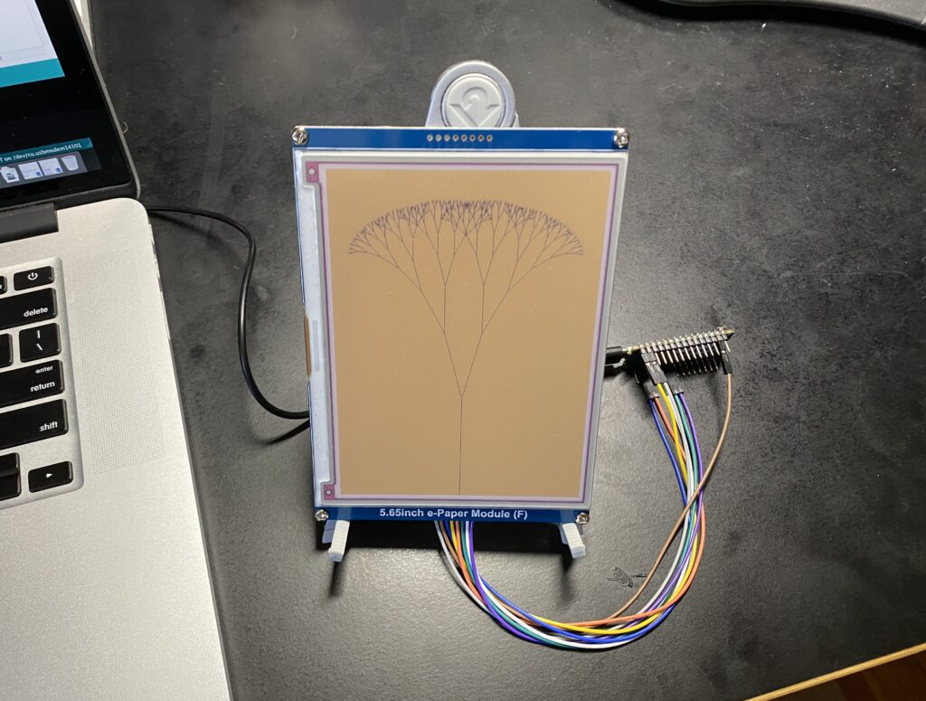 Fractals on Arduino